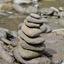 Evenwichtige stenen