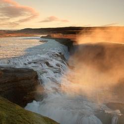 Gullfoss , IJsland