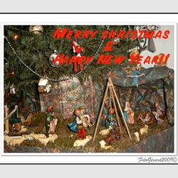 Fijne Kerstdagen en voorspodig 2010