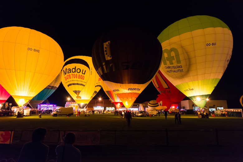 Nightglow Balloonmeeting Eeklo - Balloonmeeting Eeklo 2016