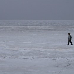 bevroren meer zweden