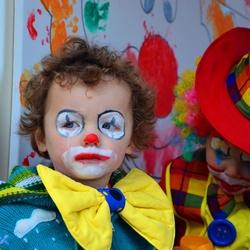 Verdrietige clown