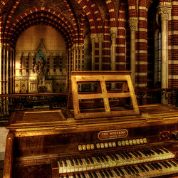 the organ and the church