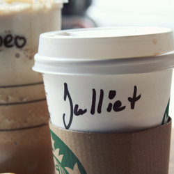'Romeo And Julliet' Starbucks