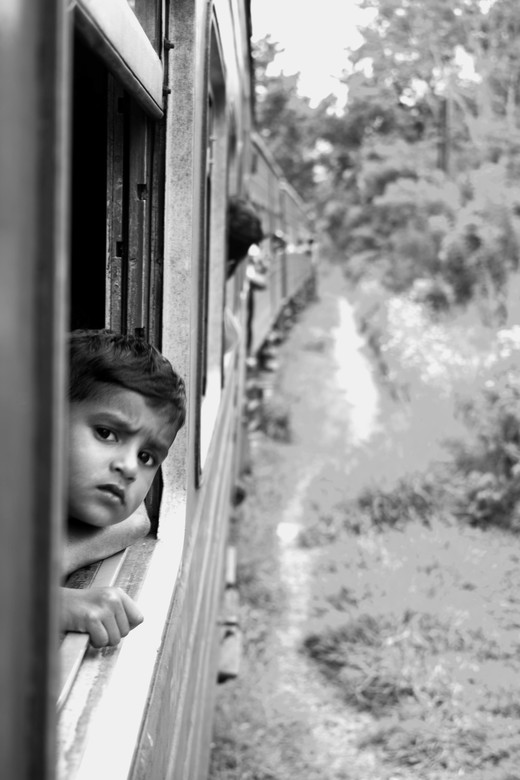 The Boy, The Train