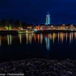 Skyline Deventer by night