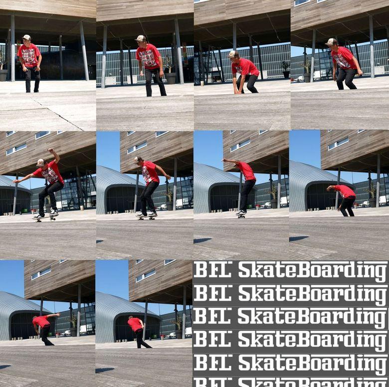 """50-50 Boardwalk - een nette 50-50 grind bij boardwalk (ro<img  src=""""/images/smileys/cool.png""""/>"""