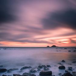 Slow sunset