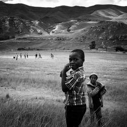 Basotho kinderen