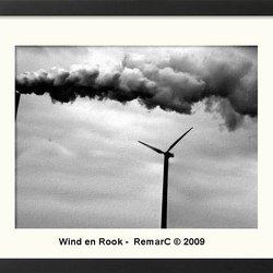 Wind en rook