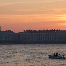 Avond in Sint Petersburg