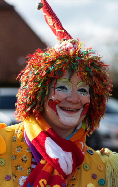Clownerie - leuke carnavalsclown