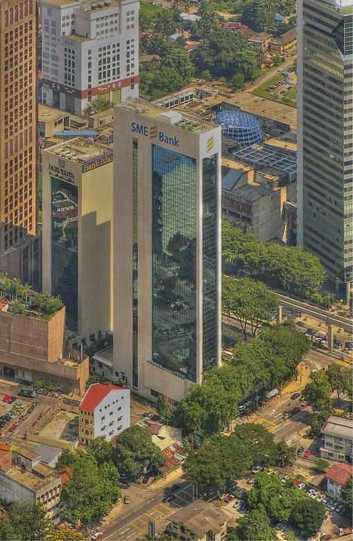 Kuala Lumpur - Gemaakt vanaf een toren van ongeveer 400 m hoog.