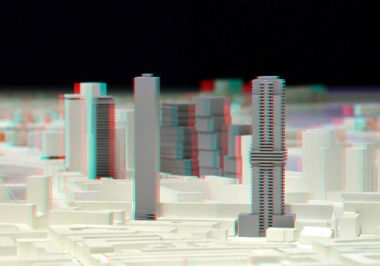 maquette Rotterdam Discovery 3D - maquette Rotterdam Discovery 3D<br />