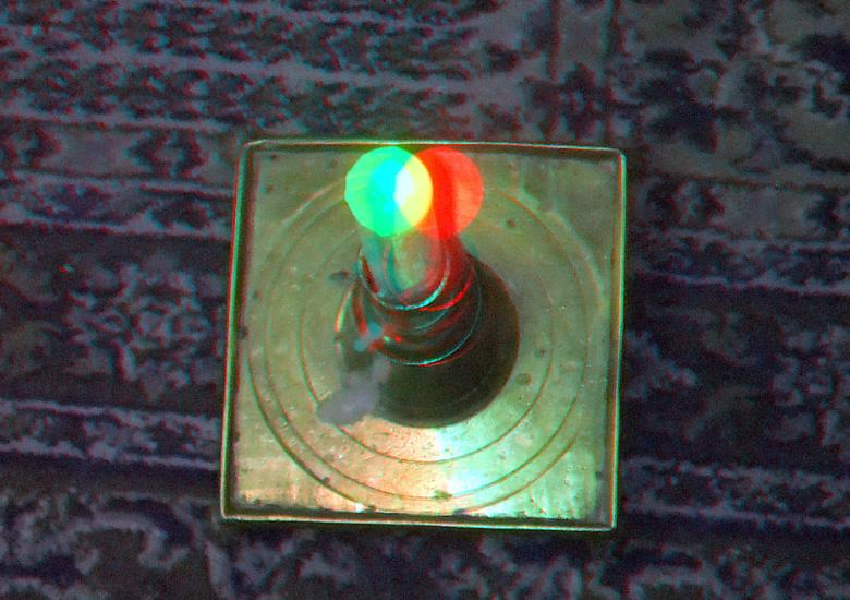 Kaars 3D TTW - Trough the Window TTW<br /> anaglyph stereo red/cyan