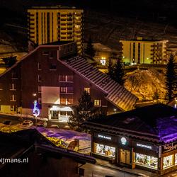 Saint Francois Longchamp bij nacht