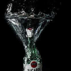 Bacardi splash