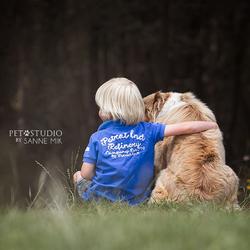 Dog & Child