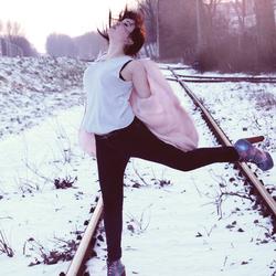 Melissa dans la neige