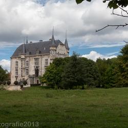 """kasteel """"schaloen"""" nabij Valkenburg...."""
