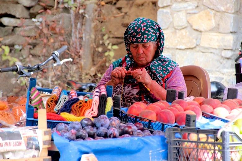 Turkse vrouw - Turkse vrouw