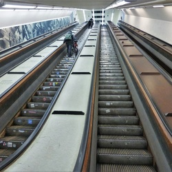 roltrappen Maastunnel