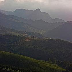Landschap bij Cefalu Sicilie