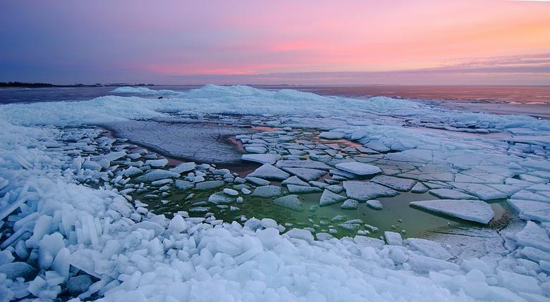 Kruiend ijs bij zonsondergang - _DSC6311_2_3_4_5-ps.jpg