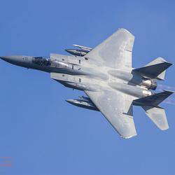 Banking USAF F-15
