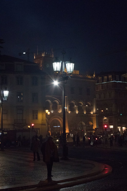 Lissabon  - Lissabon, Praca Rossio