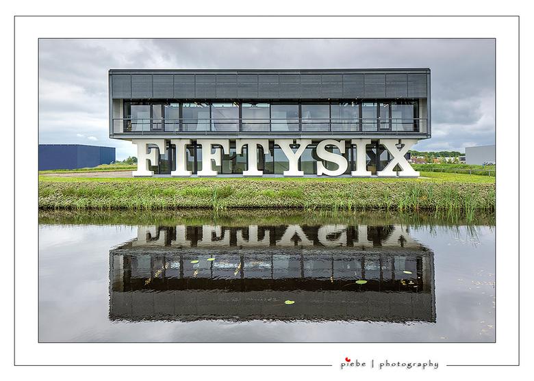 Fifty Six - Nu weer even heel iets anders. Fifty Six is een mode keten en het kantoor gebouw staat op het industrieterrein Woudfennen in Joure. De pra