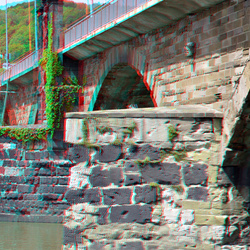 Römerbrücke Trier Germany 3D