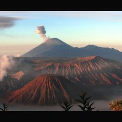 Panorama Mount Bromo