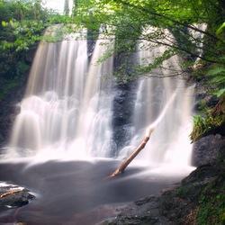 Waterfall Ess-na-Crub, Glenariff Forest Park, County Antrim