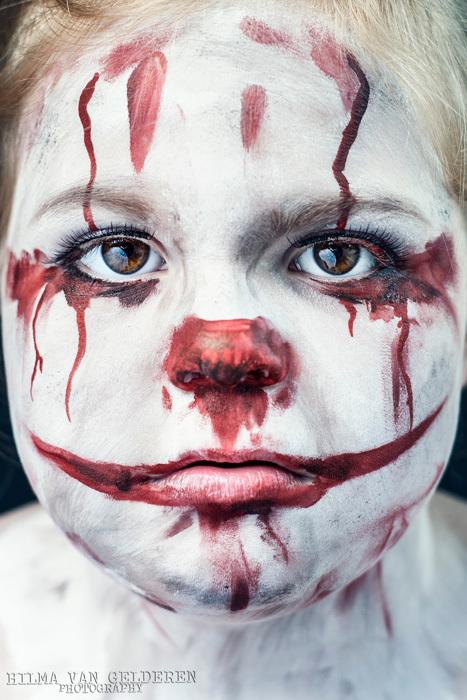 IT - De schmink is gedaan door Anja Stuiver-Meijer, het model is haar dochter Leah.