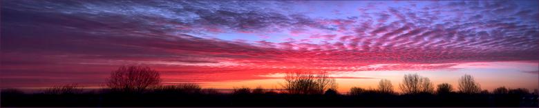 zonsopkomst panorama