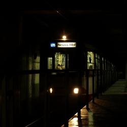 The train to Neuss