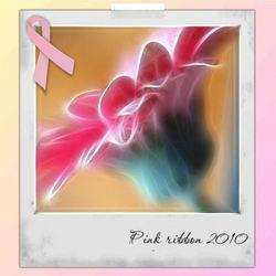 Pink Ribbon  voor Rens