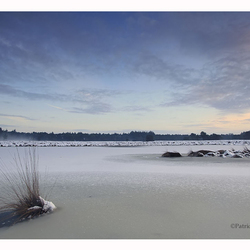 Brabants Winterlandschap.