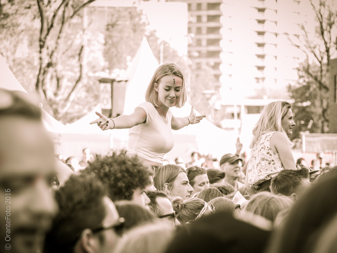 Crowd @ Bevrijdingsfestival Utrecht