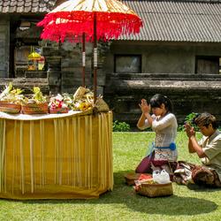 Devotie op Bali
