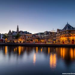 Pittoreske spaarne Haarlem