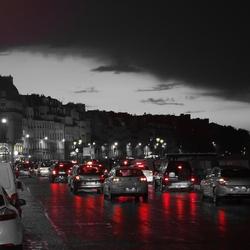 avondspits in Parijs