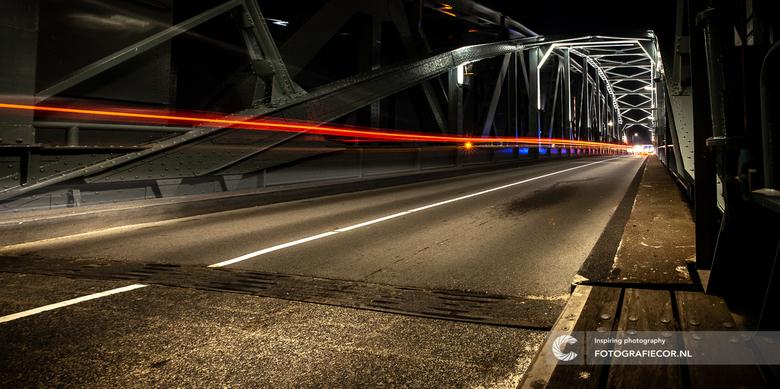 De oude IJsselbrug van Zutphen