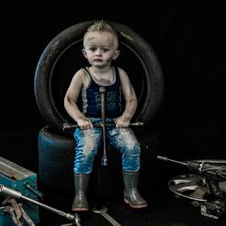 Kleine automonteur