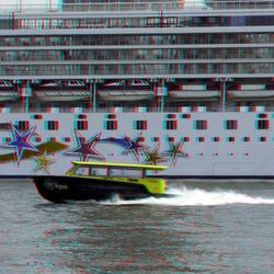 Norwegian Star Wilhelminapier Rotterdam 3D