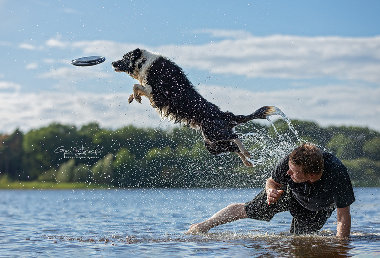 Dorus catch - Tijdens een frisbee fotoshoot, deze prachtige sprong mogen vastleggen. Wat een kracht en souplesse