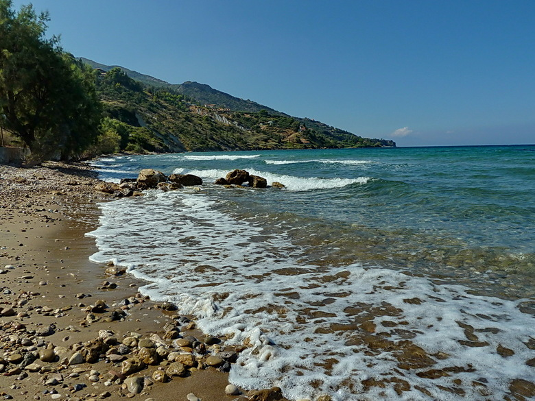 kustlijn Zakynthos - Kustlijn van het Griekse eiland Zakynthos.<br /> <br /> Groet Roland