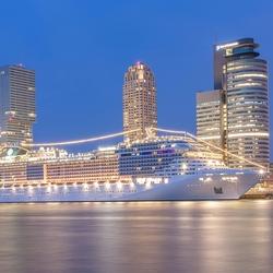 MSC Splendida in Rotterdam