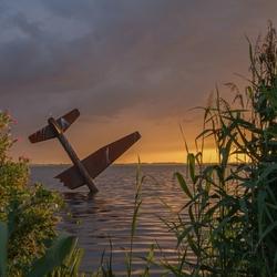 Vliegtuig in Harderwijk.